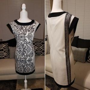 Donna Morgan Black & White Dress